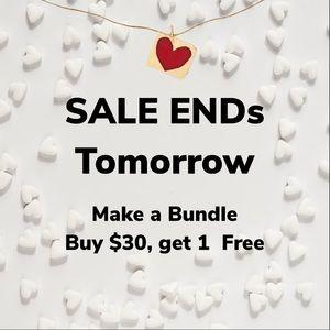 Sale ends 2/17/20